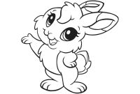 Coloring Pages Of A Rabbit - Coloring Pages Thanksgiving Turkey Baby Bunny Looney Tunes Lola Gallery