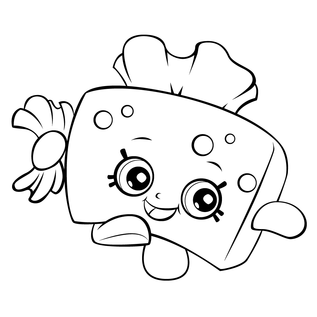 Print Shopkins Coloring Pages Printable