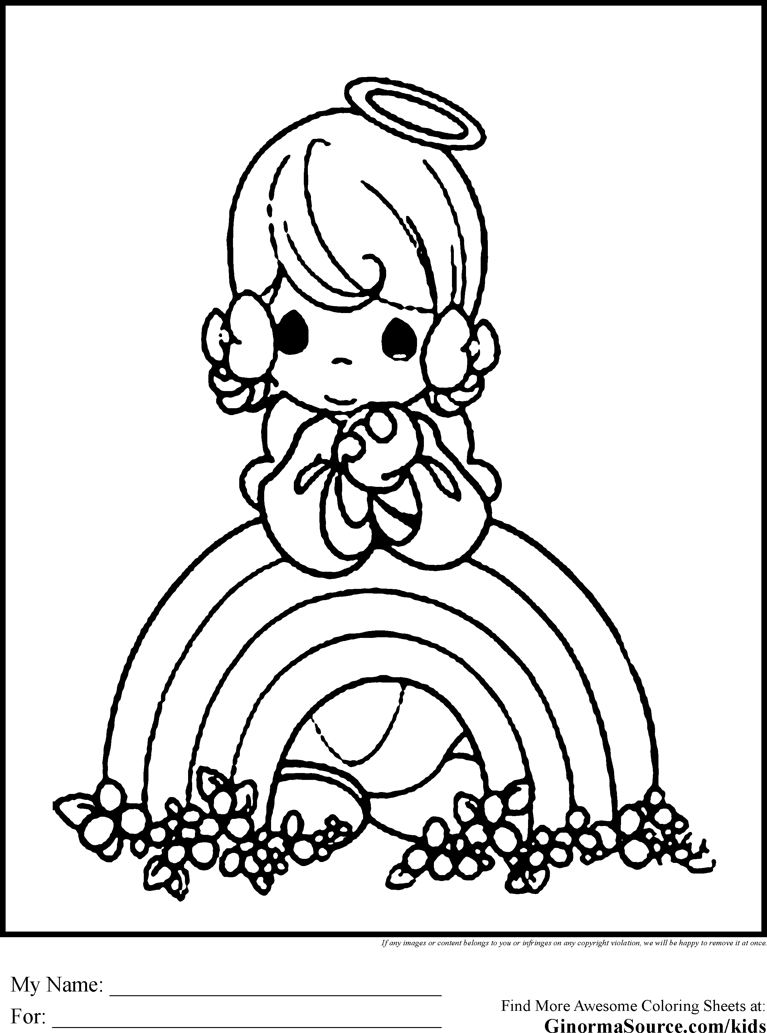 Cute Coloring Pages To Print