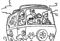 Mystery Coloring Pages - Confidential Scooby Doo Mystery Machine Coloring Pages 9196 to Print