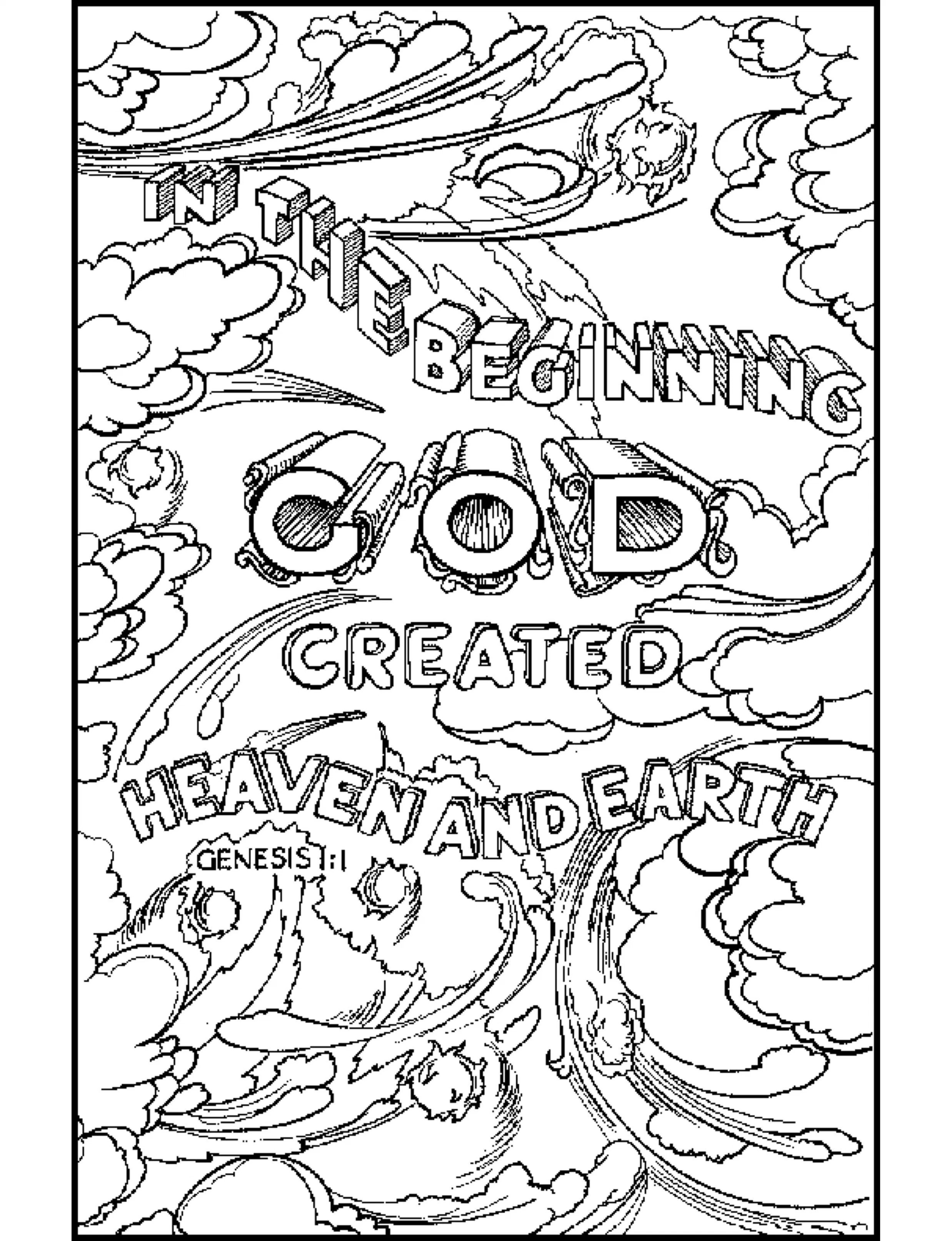 Free Bible Coloring Pages Kids Download 13m - To print for your project