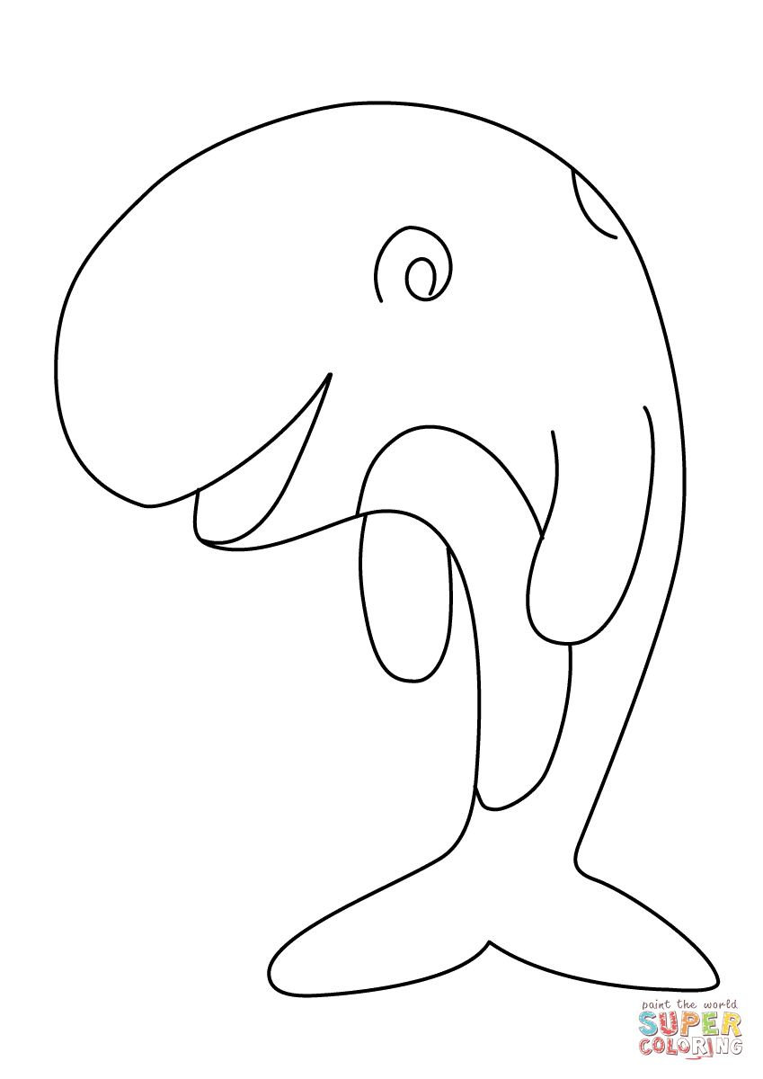 Wild Sea Animal Whale Coloring Pages Womanmate to Print – Free ...