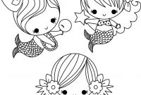 Cute Coloring Pages to Print - Cute Mermaid Coloring Pages to Print