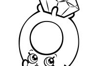 Diamond Coloring Pages - Diamond Coloring Page Print Roxy Ring with Shopkins Season 3 Pages Download
