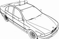 Bmw Car Coloring Pages - Disney Cars Coloring Sheets New Bmw 5 Police Car Coloring Page Printable