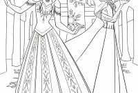 Free Coloring Pages Of Frozen - Disney Frozen Elsa Coloring Pages to Print