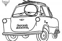 Coloring Pages Cars 2 - Drawing Cars 2 Cars Coloring Pages Cars 2 Professor Z Coloring Gallery