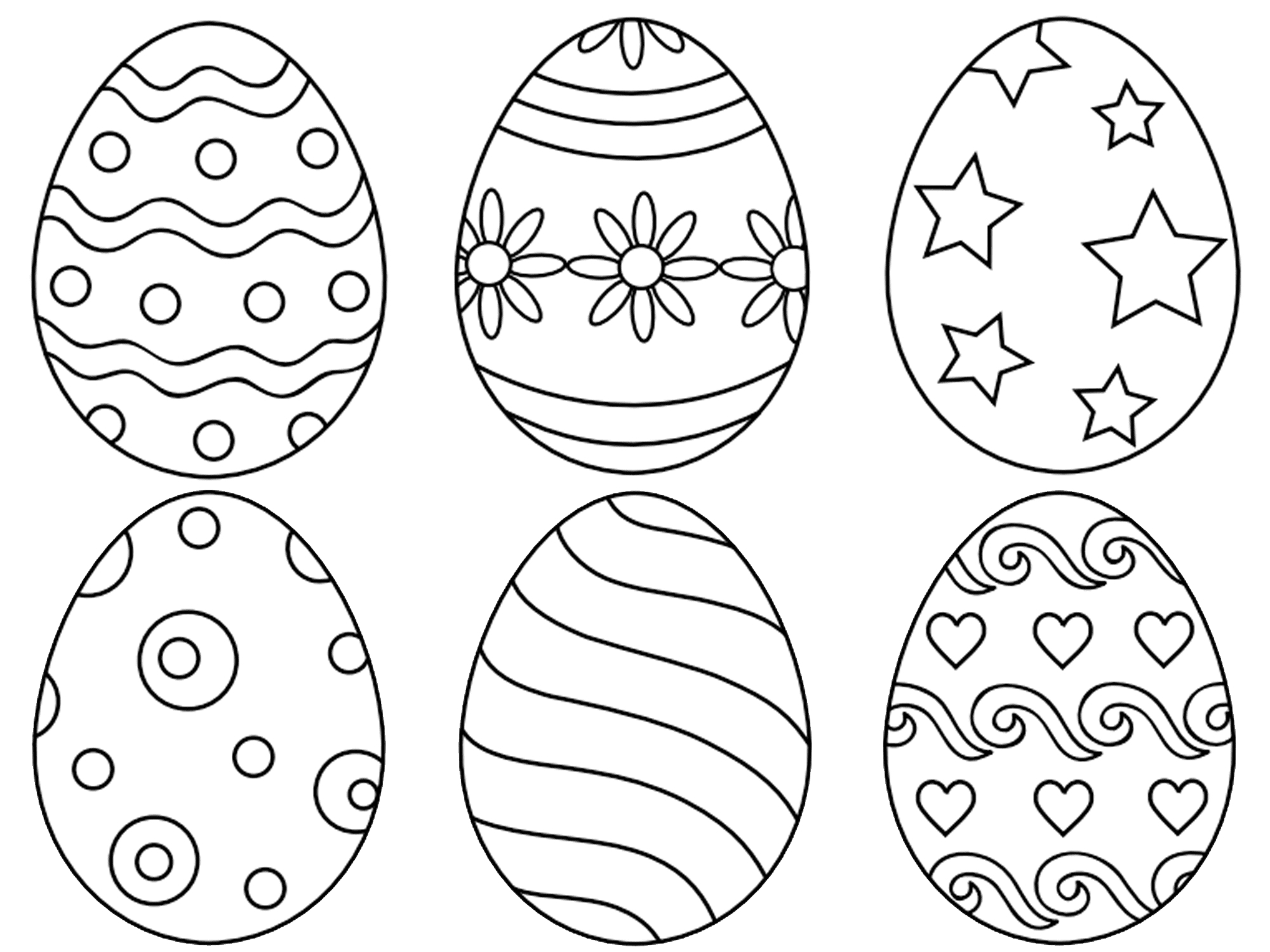 Easter Basket Coloring Pages Printable Gallery to Print Of Easter Egg Designs Coloring Pages to Print