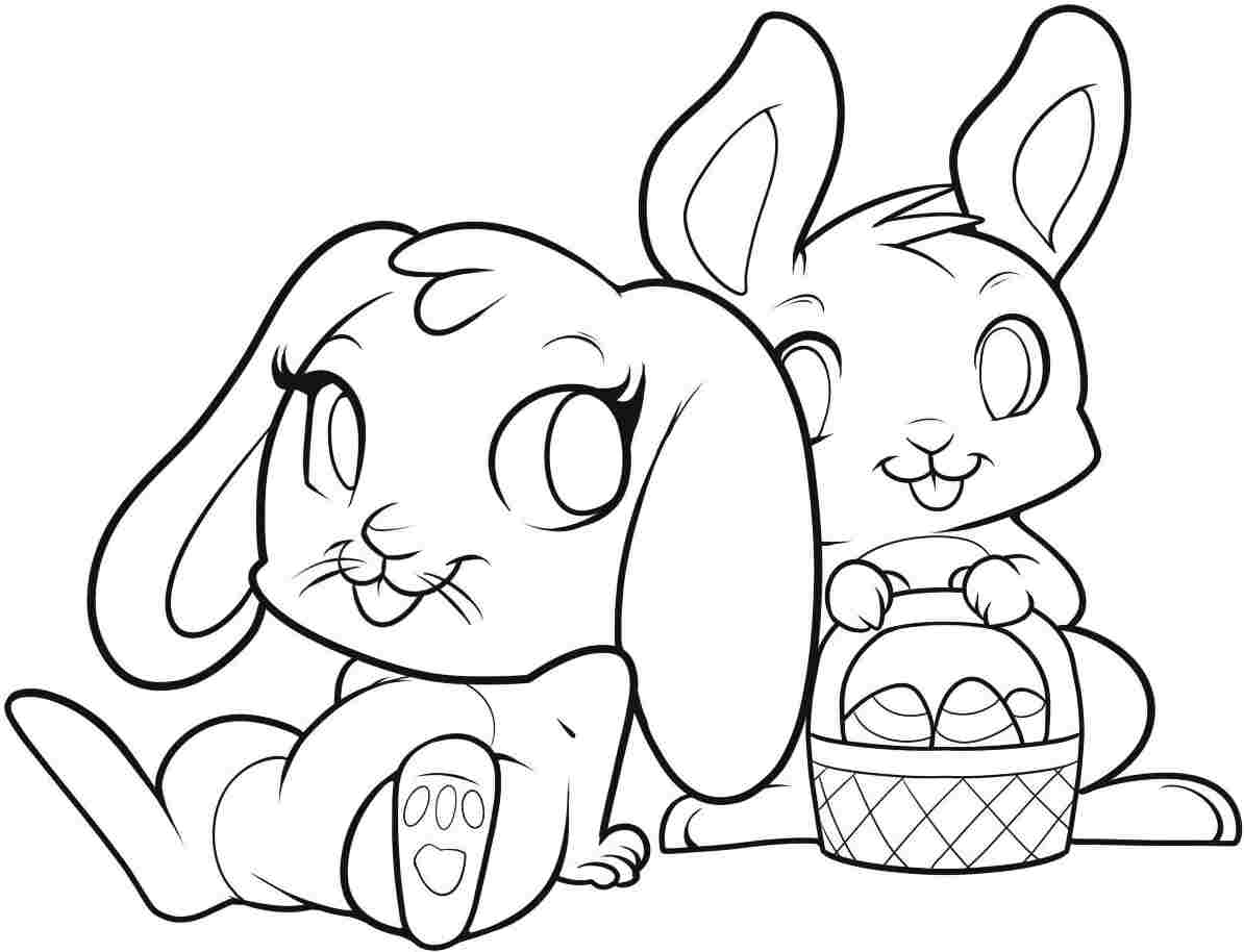 Easter Bunnies In Love Free Coloring Page Animals Bunny Capricus Gallery Of Remarkable Realistic Bunny Coloring Pages Rabb Unknown Download