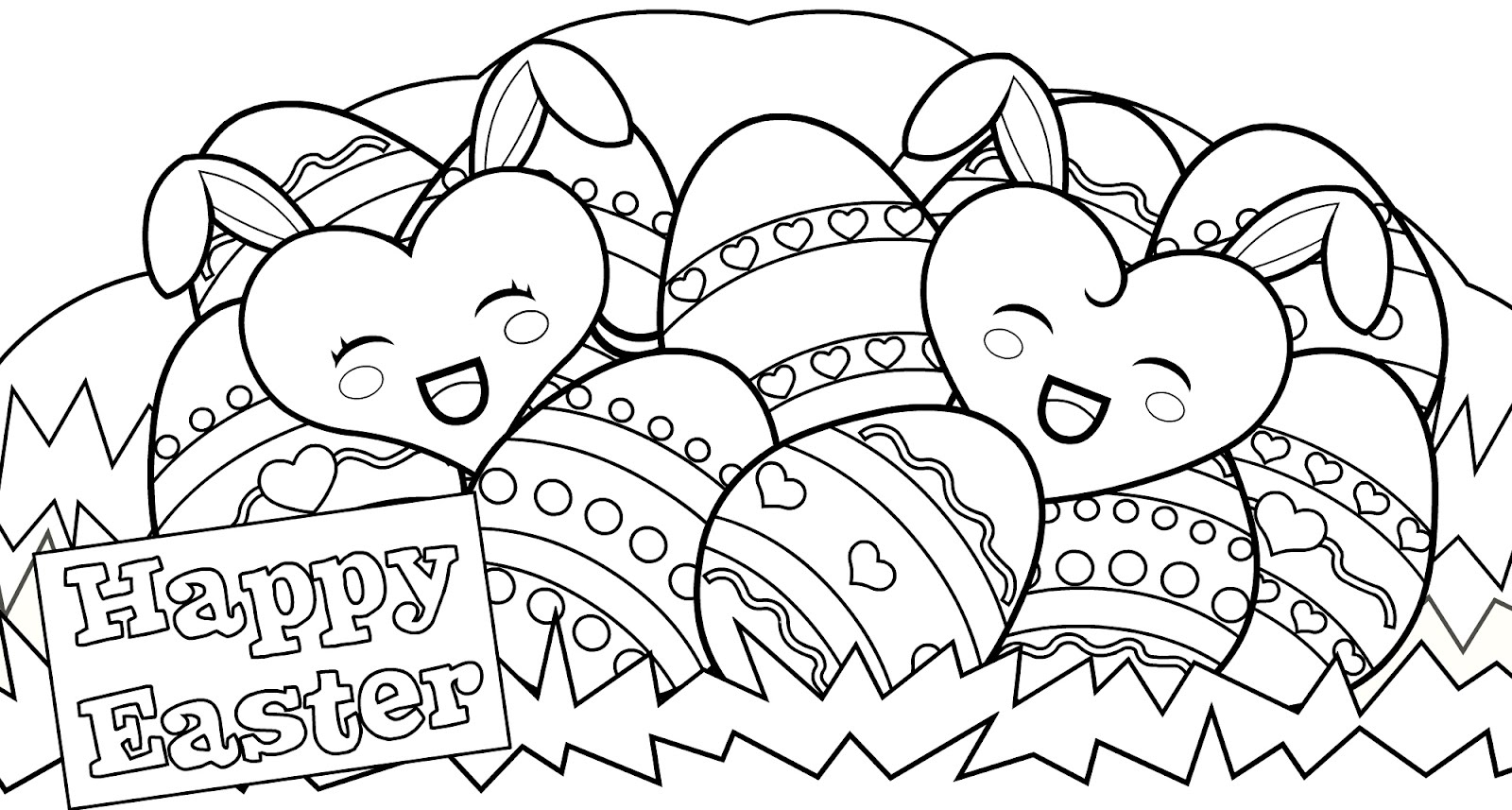 Coloring Pages for Kids for Easter Download 19o - Free For Children