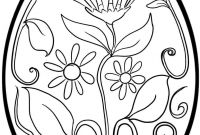 Coloring Pages for Kids for Easter - Easter Eggs Coloring Pages Coloringsuite to Print