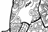 Elephant Mandala Coloring Pages - Elephant Coloring Pages Finest Page with Grig3 Gallery