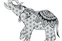 Elephant Mandala Coloring Pages - Elephant Mandala Coloring Pages for Adults Elephants Google Animals Gallery