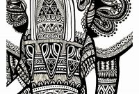Elephant Mandala Coloring Pages - Elephant Mandala Coloring Pages Free Coloring Page Gallery