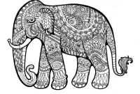 Elephant Mandala Coloring Pages - Elephant Mandala Coloring Pages Page Incredible Collection