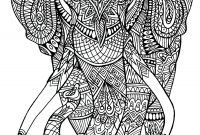 Elephant Mandala Coloring Pages - Elephant Patterns Elephants Coloring Pages for Adults Gallery