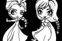 Free Coloring Pages Of Frozen - Elsa and Anna Free Coloring Page Disney Frozen Kids Movies to Print