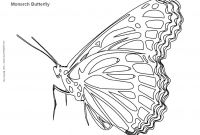Monarch butterfly Coloring Pages - Embroidery Pattern for Monarch butterfly Google Search Download