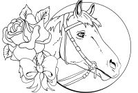 Coloring Pages Of Horses - Endorsed Coloring Sheets Horses Detailed Christmas Pages Download Gallery