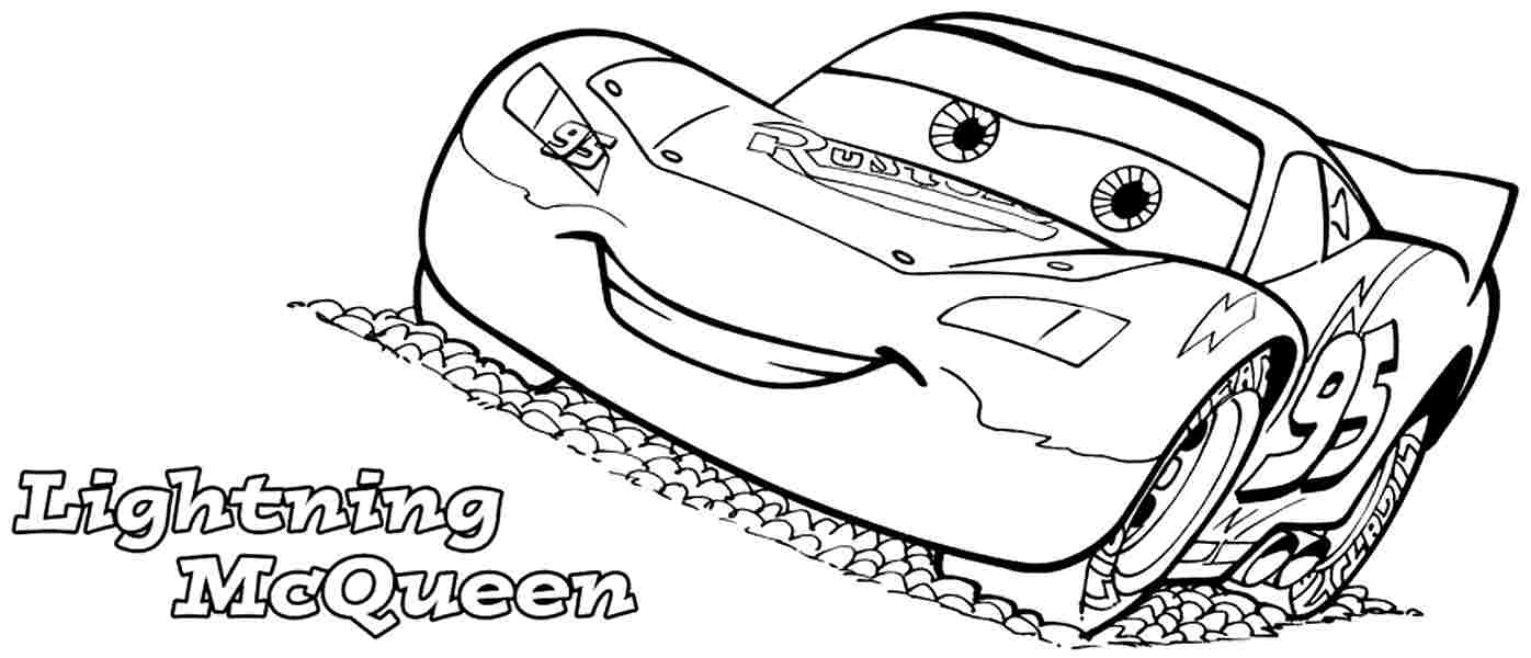 Cars the Movie Coloring Pages to Print 18p - Free Download
