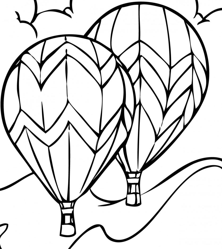 Extraordinary Balloon About Balloon Coloring Princess Sleeping Download Of Hot Air Balloon Coloring Page Collection