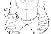 Teenage Ninja Turtle Coloring Pages - Extraordinary Free Coloring Pages for Teenage Mutant Ninja Turtles Printable