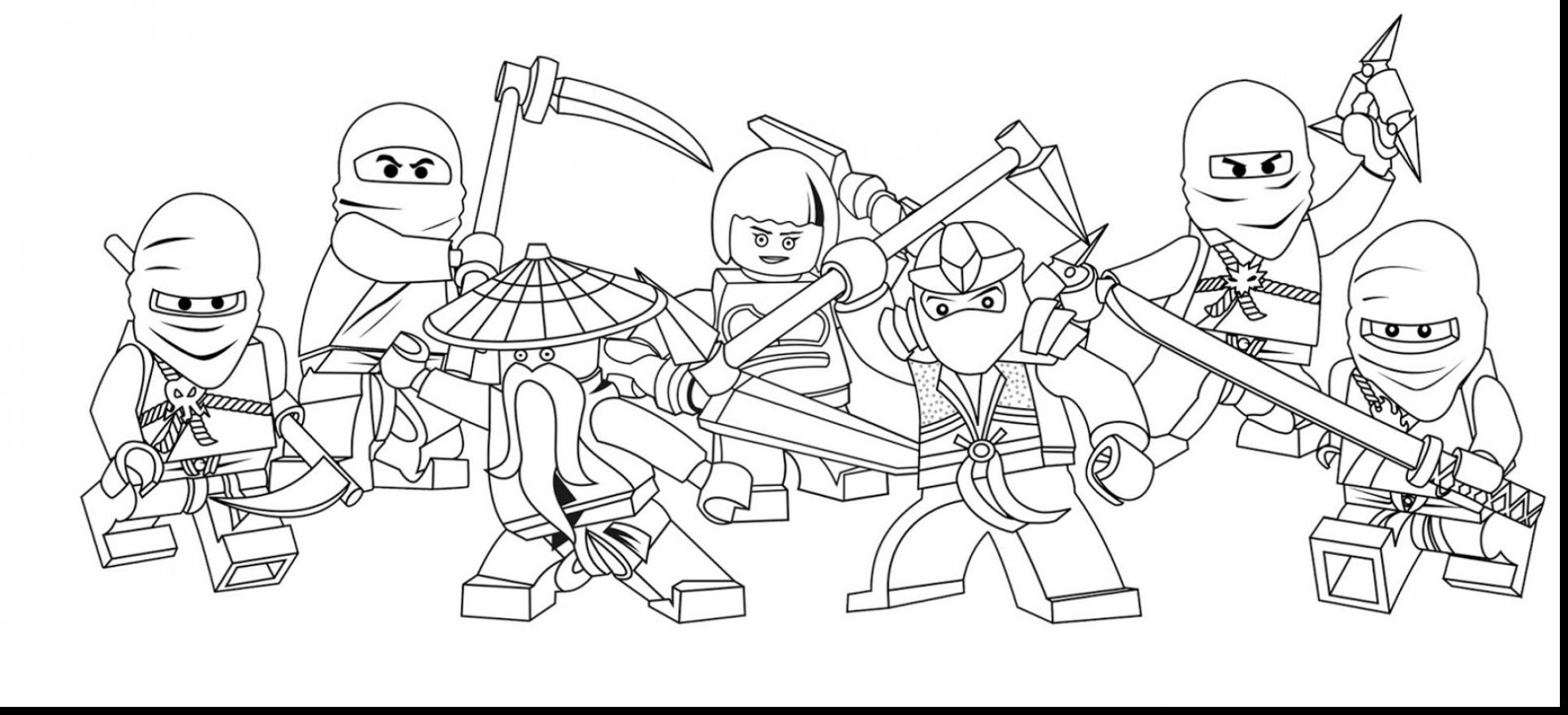 Extravagant Lego Ninjago Coloring Pages Astounding With To To Print