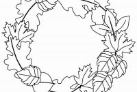 Autumn Coloring Pages Printable - Fall Autumn Leaves Coloringees to Print Leaf for Preschoolers Printable
