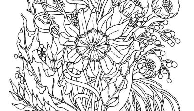 Fall Flowers Coloring Pages - Fall Flowers Coloring Pages Free Cool Coloring Pages Printable