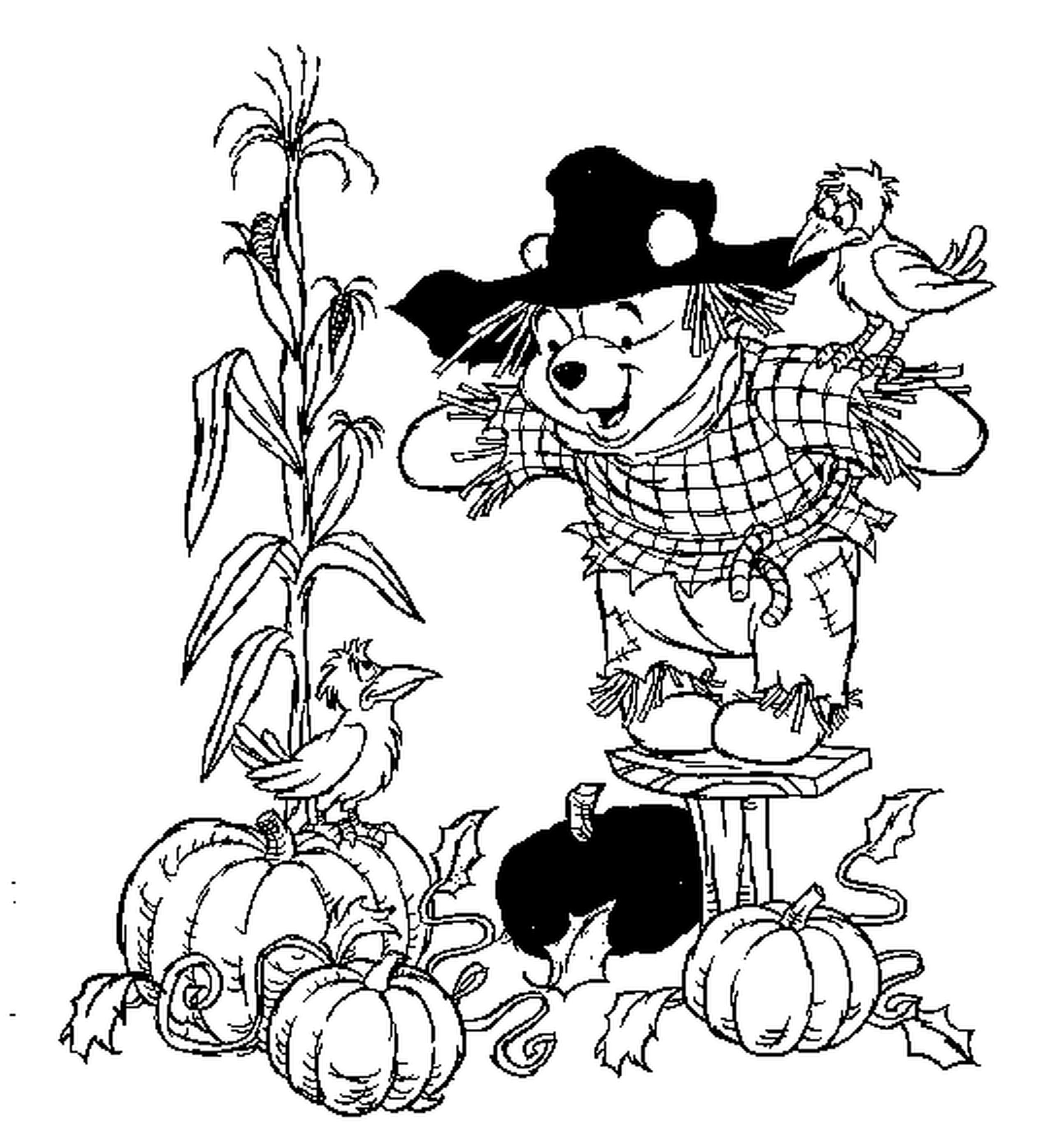 Fall Flowers Coloring Pages Printable 14p - Free Download