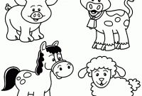 Animals Coloring Pages to Print - Farm Animals Coloring Pages Gallery