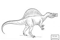 Dinosaurs Coloring Pages - Fascinating Dinosaur Coloring Pages Spinosauru 1681 Unknown Collection