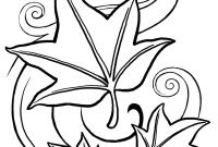 Fall Flowers Coloring Pages - Fascinating Fall Coloring Pages for Kids Disney Tree Autumn Download