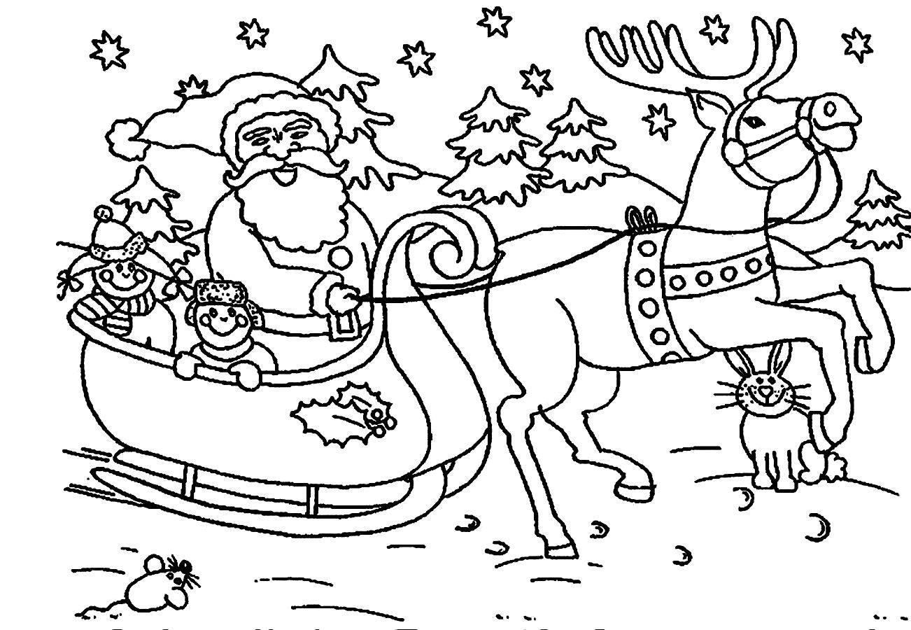 christmas coloring pages printable free father christmas colouring pages to print christmas coloring pages to