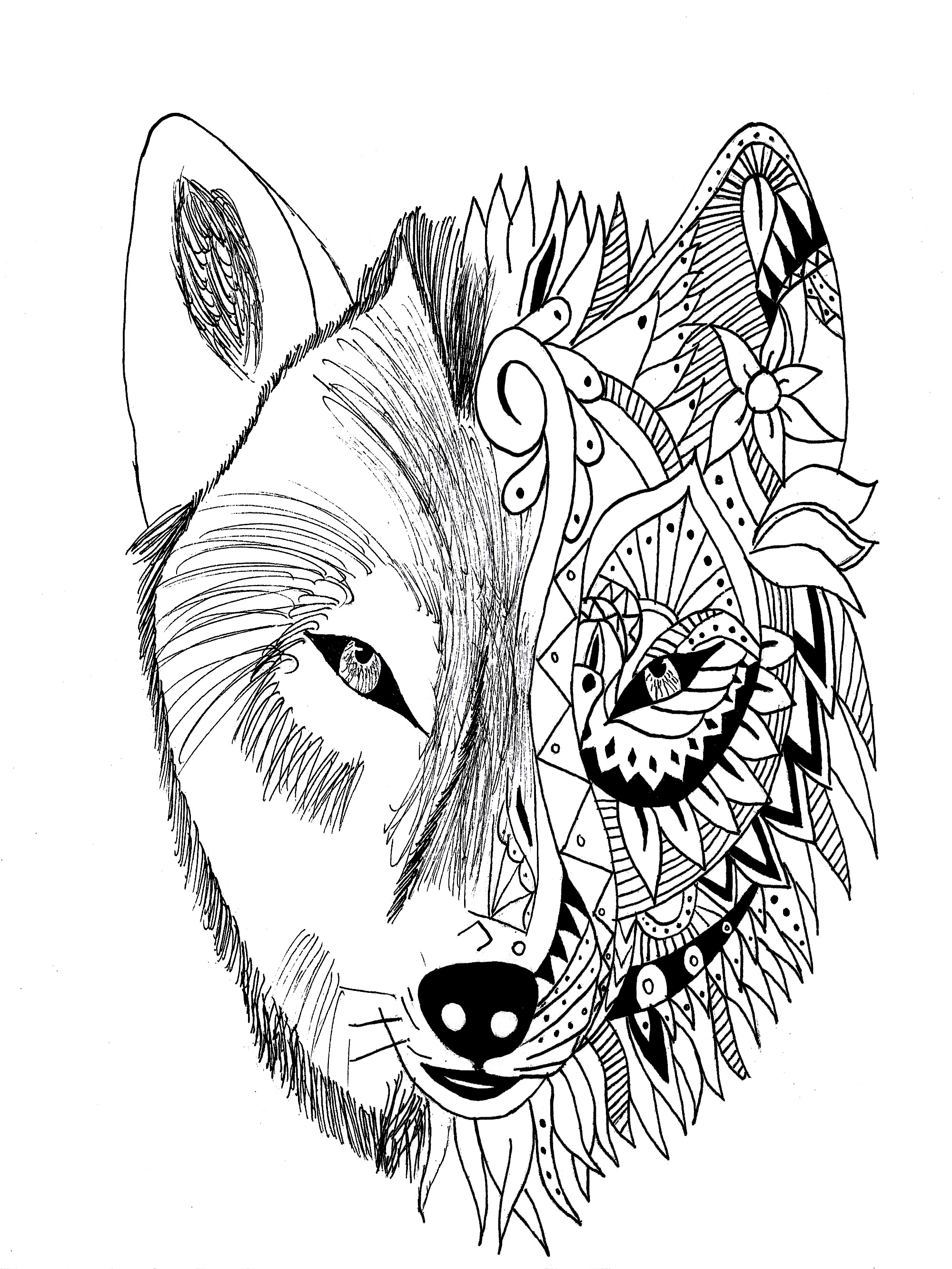 First Rate Tattoo Coloring Pages Printable Tattoos for Adults to to Print Of Wolves Coloring Pages Wolf Coloring Pages Free Coloring Pages Collection
