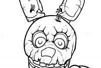 Fnaf Printable Coloring Pages - Five Nights at Freddy S Coloring Pages Download