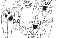 Fnaf Printable Coloring Pages - Five Nights at Freddy S Colouring Google Zoeken Gallery