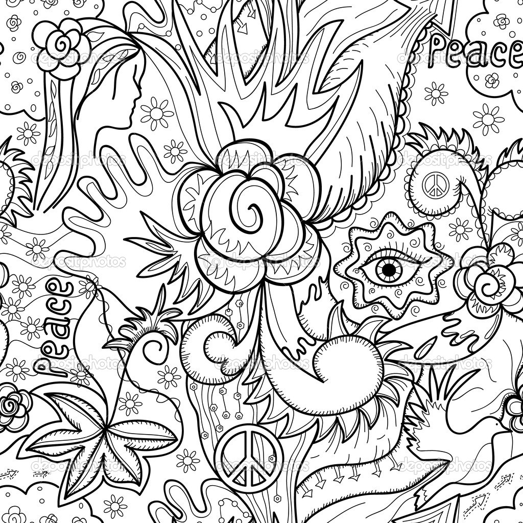 Abstract Coloring Pages Online Gallery 10k - To print for your project