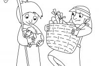 Free Bible Coloring Pages Kids - Free Bible Coloring Page Cain and Abel Download