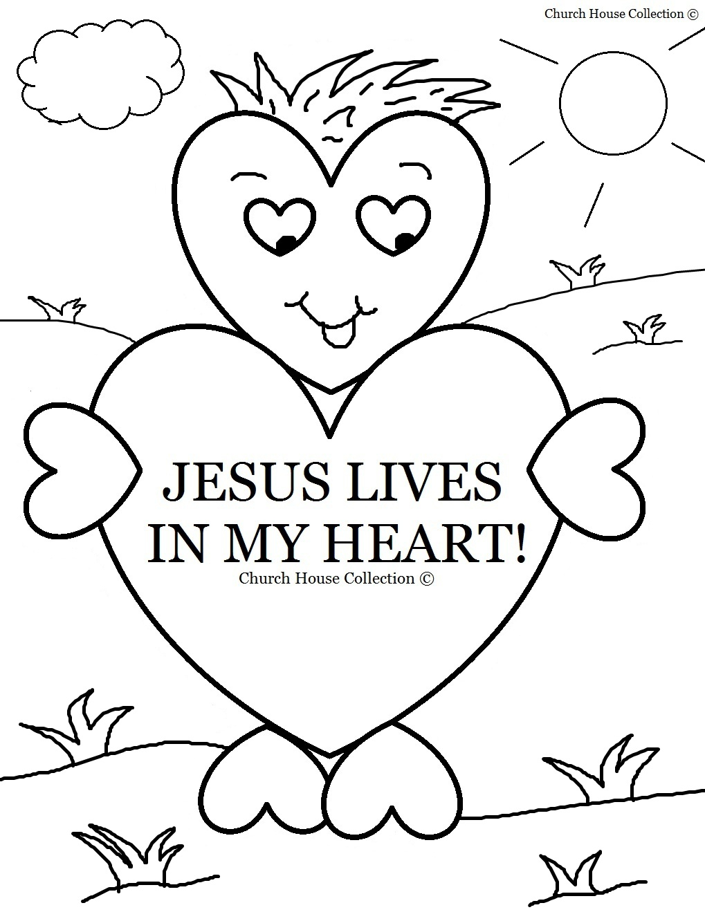 Free Printable Bible Coloring Pages for Children Gallery – Free ...