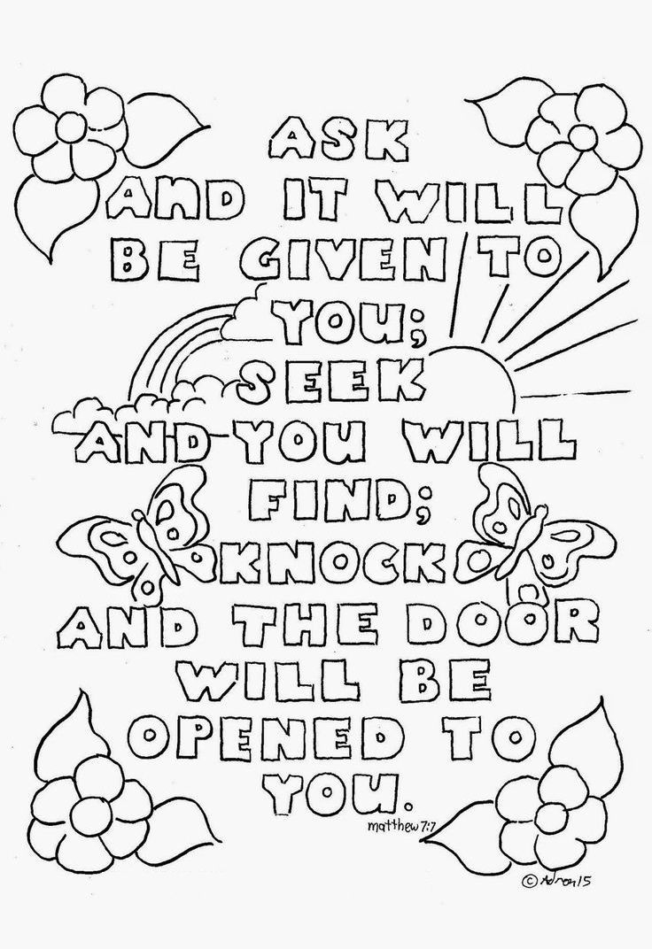 Printable Bible Coloring Pages Download – Free Coloring Sheets