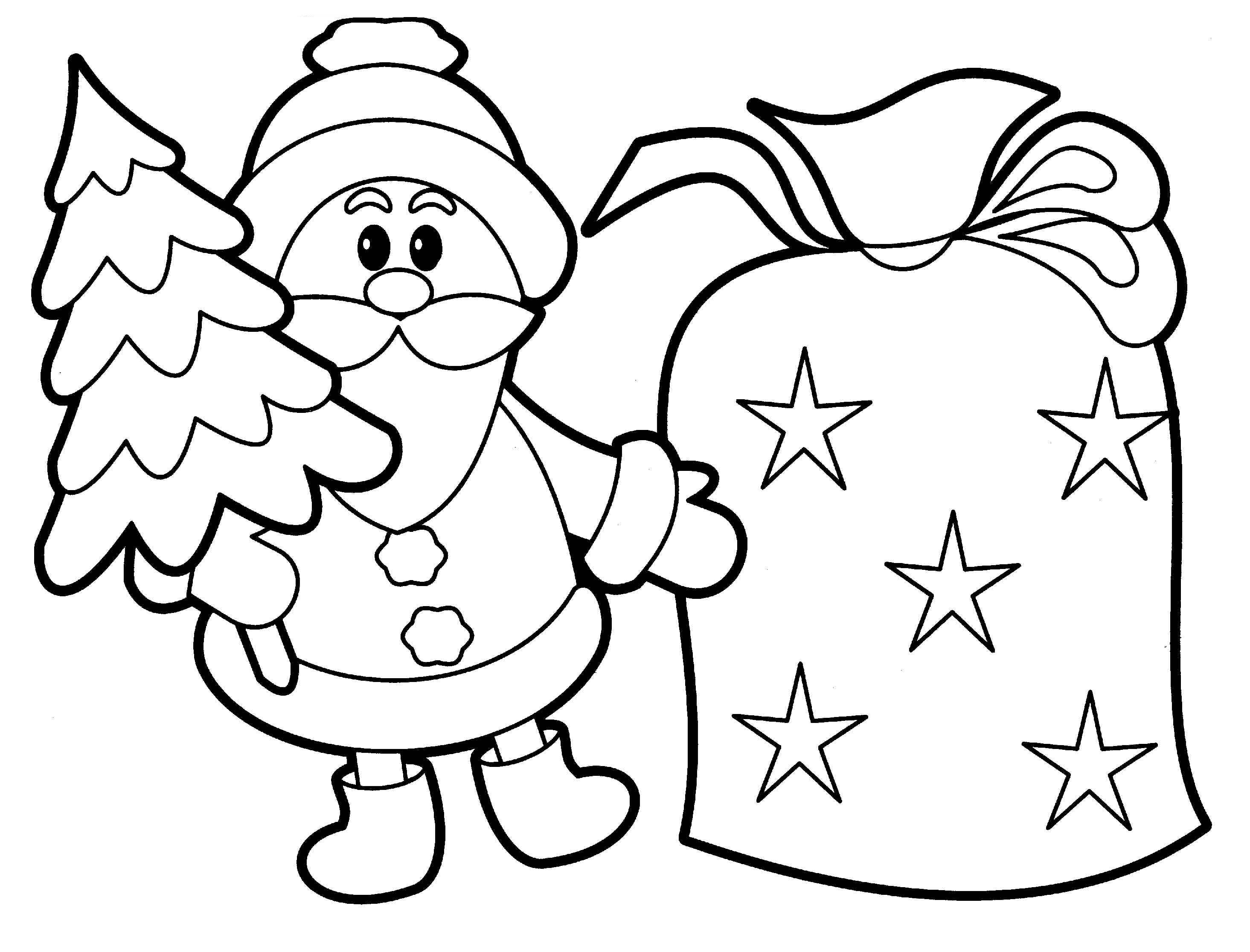 Christmas Coloring Pages Printable Free Download | Free Coloring Sheets