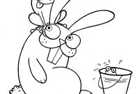 Coloring Pages Of A Rabbit - Free Coloring Pages Ing Up Printable