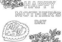 Mothers Day Coloring Pages Kids - Free Coloring Pages Mothers Day Printable for Kids Cool2bkids with Gallery