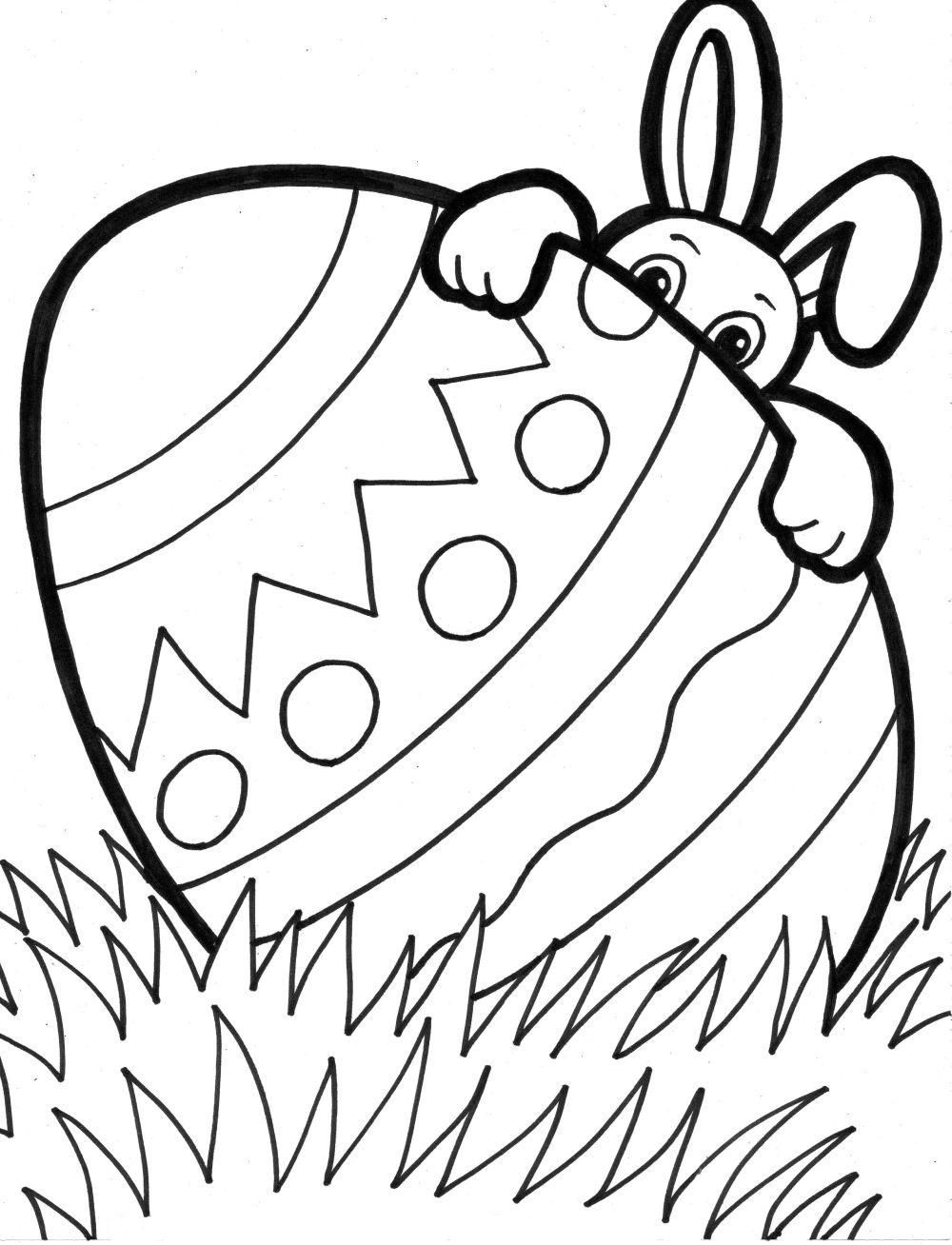 Coloring Pages for Kids for Easter Download 7c - Save it to your computer