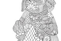 Elephant Mandala Coloring Pages - Free Elephant Mandala Coloring Pages Coloring Printable