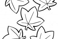 Fall Flowers Coloring Pages - Free Fall Coloring Pages for Preschoolers Collection
