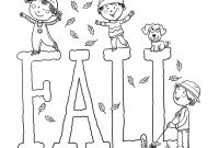 Autumn Coloring Pages Printable - Free Fall Coloring Pages Printable Autumn with for Bloodbrothers Me Download