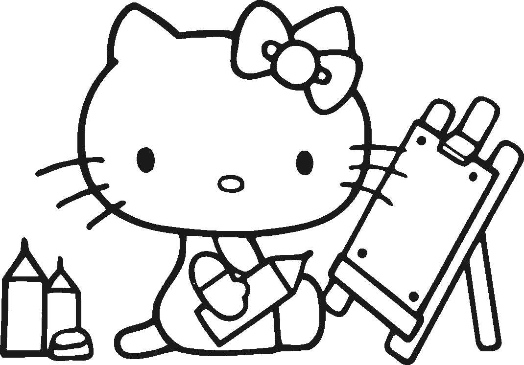Free Hello Kitty Coloring Pages Luxury Printable