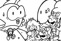 Mario Coloring Pages to Print - Free Mario Coloring Pages Coloring Pages Gallery